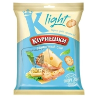 Сухарики со сливочным сыром пшеничные, Кириешки Light, 35г (флоу-пак)