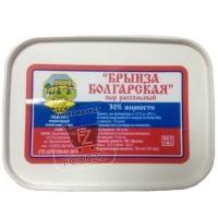 Сыр рассольный брынза болгарская 30%, НАК, 250г (пластиковая упаковка)