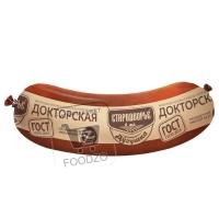 Колбаса вареная докторская дугушка, Стародворье, 400г (вакуумная упаковка)