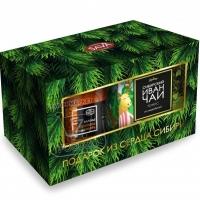 Варенье облепиховое имбирь-иван-чай сибирский набор, Сибирская ягода, 300г+50г (картонная коробка)