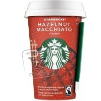 Молочный кофейный напиток со вкусом лесного ореха, Starbucks, 220мл (стакан)