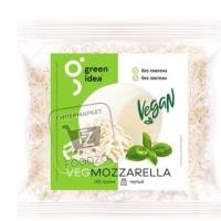 Продукт сырный моцарелла тертый, Green Idea, 200г (флоу-пак)