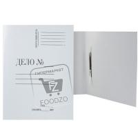 Папка картонная скоросшиватель а4, Союзбланкиздат, 1шт (без упаковки)