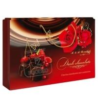 Конфеты ассорти вишня-клубника-клюква в темном шоколаде, A&A.DEMIDOFF, 284г (коробка)
