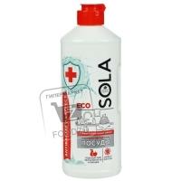 Гель-эко для мытья посуды антибактериальный, Sola, 500мл (пластиковая бутылка)