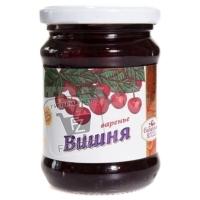 Варенье вишневое, Сибирская ягода, 1,3кг (стеклянная банка)