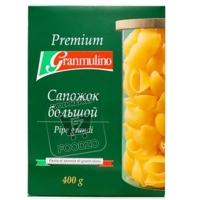 Макароны сапожок большой, Granmulino, 400г (коробка)