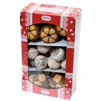Ассорти печенья шахматка-день и ночь-лимончик, Титто, 500 (коробка)