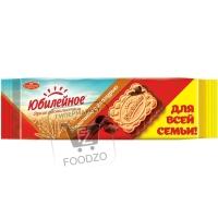 Печенье с молочной глазурью, Юбилейное, 116г (флоу-пак)