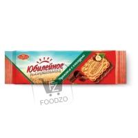 Печенье с ореховой глазурью, Юбилейное, 116г (флоу-пак)