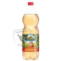 Напиток газированный лимонад буратино, Черноголовка, 1,5л (пластиковая бутылка)