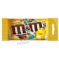 Шоколадное драже с арахисом, M&M's, 45г (флоу-пак)