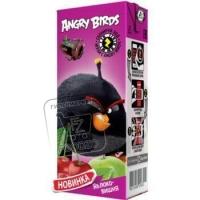 Нектар яблоко-вишня, Angry Birds, 200мл (тетра-пак)