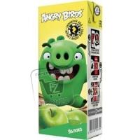 Нектар яблочный с мякотью, Angry Birds, 0,2л (тетра-пак)