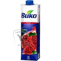 Напиток гранат сокосодержащий, Вико, 1л (тетра-пак)