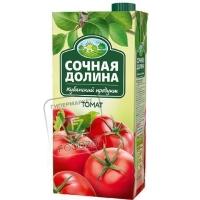 Нектар томатный с солью, Сочная долина, 0,95л (тетра-пак)