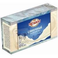 Сыр плавленый сливочный 45%, President, 50г (фольга)