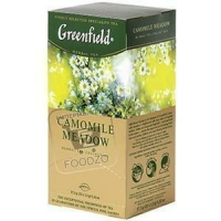 Чай ромашковый пакетированный, Greenfield, 38г (картонная коробка)