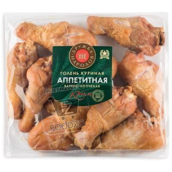 Голень куриная аппетитная, Дружба народов, 500г (вакуумная упаковка)