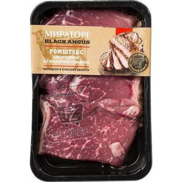 Ромштекс для отбивных из мраморной говядины, Мираторг, 470г (лоток)