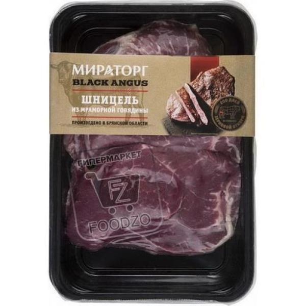 Шницель из говядины охлажденный, Мираторг, 400г (лоток)