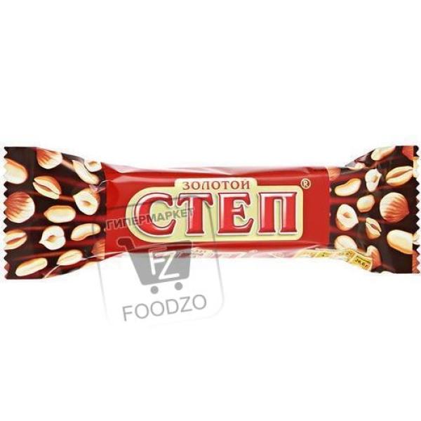 Шоколадный батончик золотой степ, Славянка, 50г (флоу-пак)
