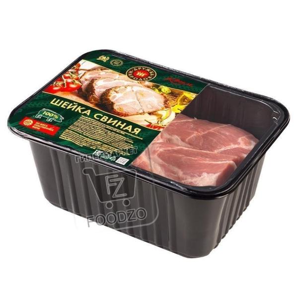 Шейка свиная охлажденная, Дружба народов, 700г (лоток)