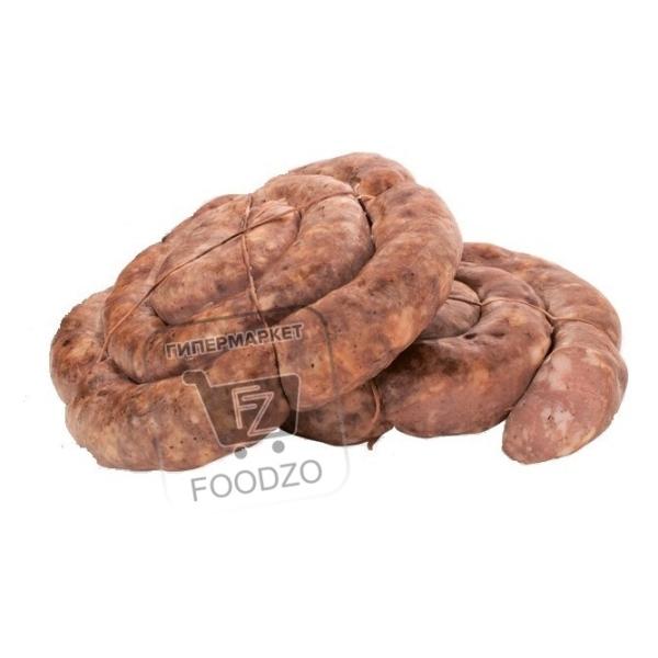 Колбаски полукопченные праздничные жареные, Скворцово, ~400г (вакуумная упаковка)