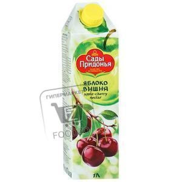 Сок яблоко-вишня, Сады Придонья, 1л (тетра-пак)