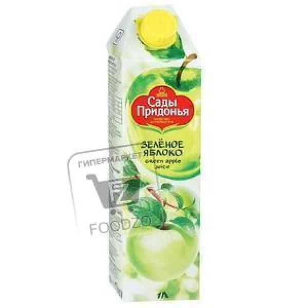 Сок зеленое яблоко, Сады Придонья, 1л (тетра-пак)